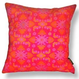 Sofa pillow Red velvet cushion cover SCARLET