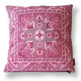 Sofa pillow Pink velvet cushion cover ROSE QUARTZ