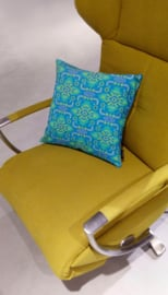 Housse coussin velours Türkis TURQUOISE
