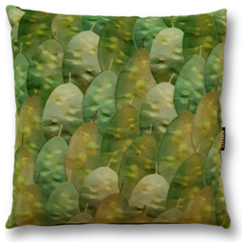 Sofa pillow Green velvet cushion cover HONESTY