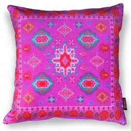 Sofa pillow Purple velvet cushion cover CLOVER
