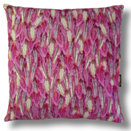 Sofa pillow Purple velvet cushion cover PURPLE PASSION