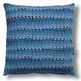 Sofa pillow Blue velvet cushion cover JAY