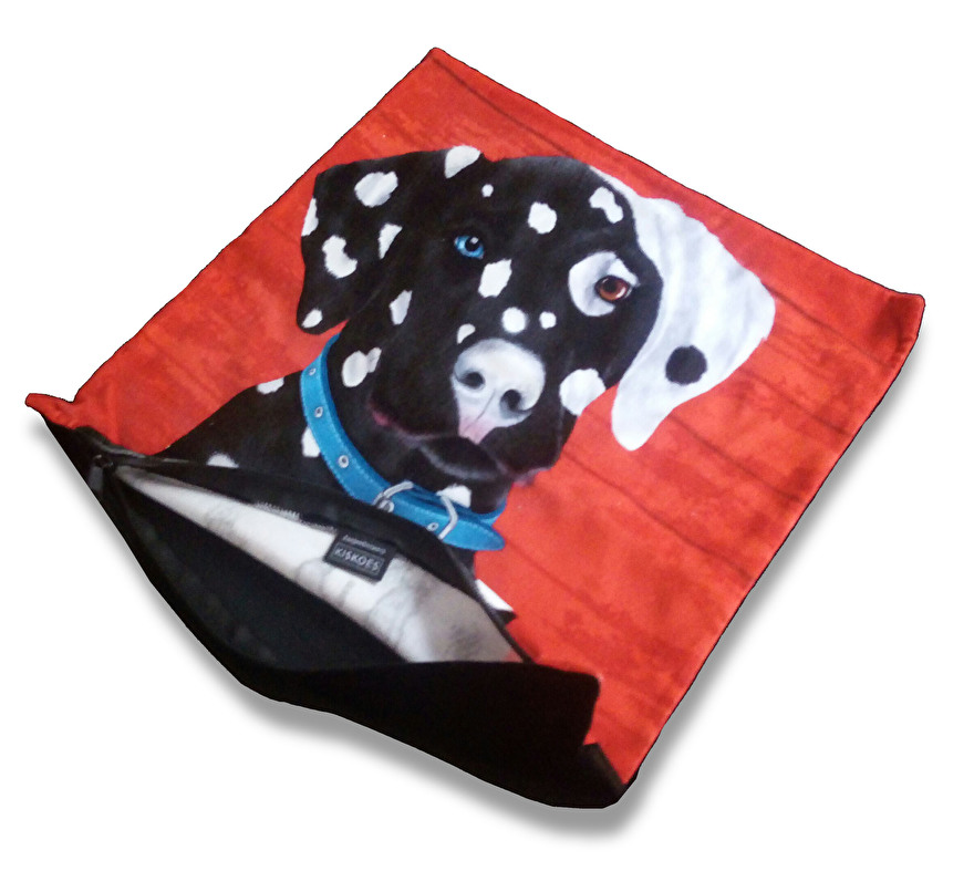 velvet dog cushion cover