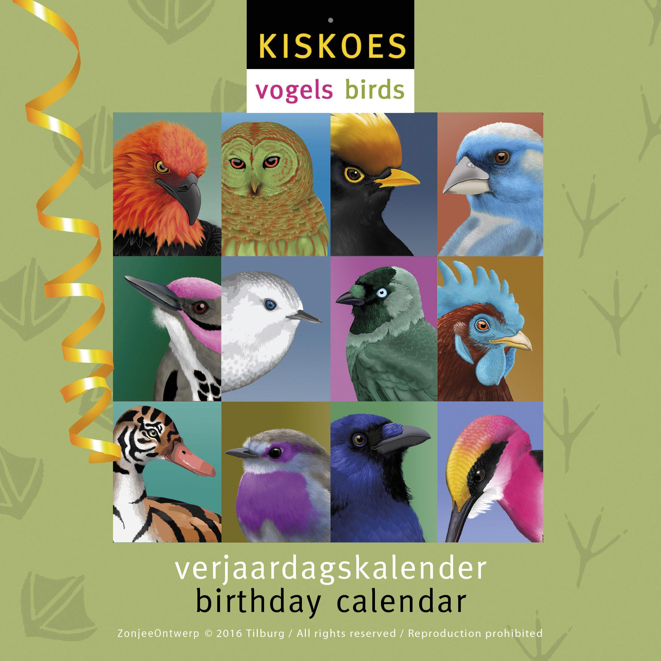 Voorkant Vogelkalender