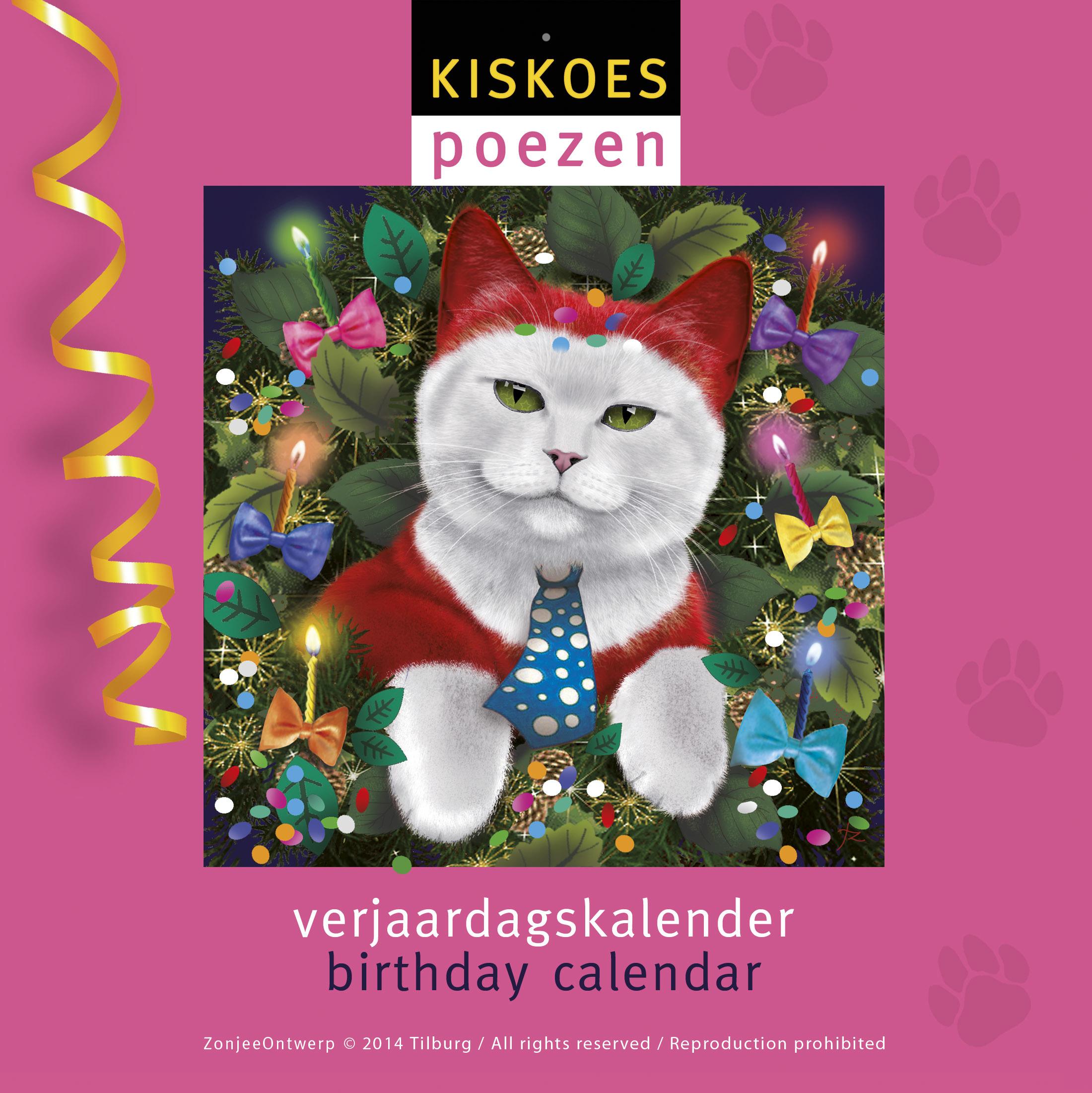 Voorblad Poezenkalender
