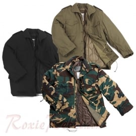 M-65 Ranger Jacket - Heavy Duty - Three Colours