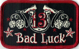 021 - PATCH - BAD LUCK - Dices - Eightballs - Stars - Rockabilly - Tattoo