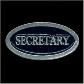 P242 - PIN - Metal Badge - SECRETARY
