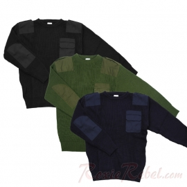 Commando Pullover NATO - Three Colours