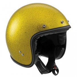 AGV - RP60 Open Face Helmet - ECE- Metal Flake Gold - ONLY  - XS - LEFT