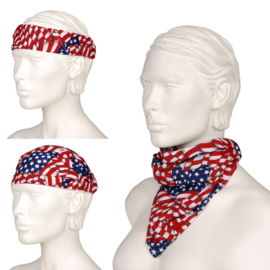 Multi Cap - USA Flag - Bandana - Scarf
