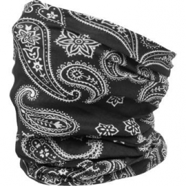 Tunnel / Tube Multi-Purpose - Black Paisley