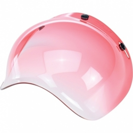 Biltwell INC - Bubble RED GRADIENT Jet Visor