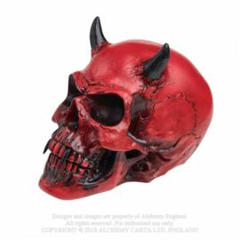 Alchemy England - Crimson Demon Skull
