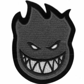 PATCH - Skate Logo - Spitfire on Wheels - GREY