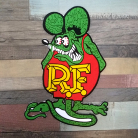 000 - BACKPATCH - cartoon - Ratfink - Ed 'Big Daddy' Roth