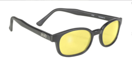 Original X-KD's - Larger Sunglasses - YELLOW - MATTE black frame