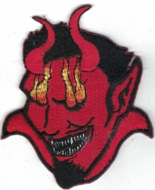 015 - PATCH - Satan with Burning Eyes