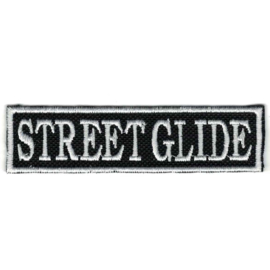 White PATCH - Flash / Stick - STREET GLIDE - HD