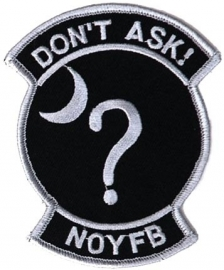 159 - PATCH - Don't Ask! None Of Your Fucking Business