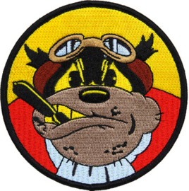 PATCH - Rough Pilot - Flying Bulldog