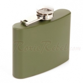 FLASK - Stainless Steel Hipflask - 4 oz / approx. 118ml