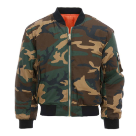 MA-I Flight Jacket - Bomber - Two kinds of Camouflage