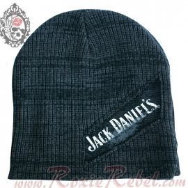 Jack Daniel's - Beanie - Grey Painted-Style