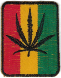 023 - PATCH - Rasta - Marihuana leaf