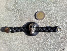 Vest Extender - Twisted Leather - Skull
