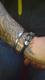 Double Skulls bracelet