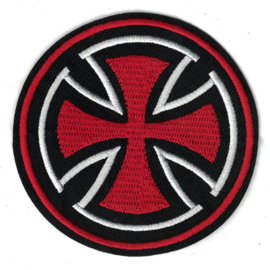PATCH - round - MALTESE CROSS