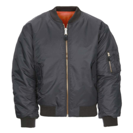 MA-I Flight Jacket - Bomber - Gun Metal Grey