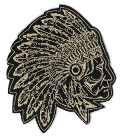 GOLDEN PATCH - Old Indian Chief