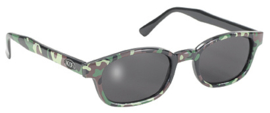 Original X-KD's - Larger Sunglasses - Woodland CAMOUFLAGE frame & SMOKE lens
