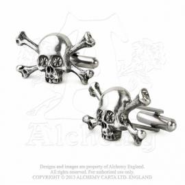 Alchemy England - Cufflinks - Skull N Bones Stargazer