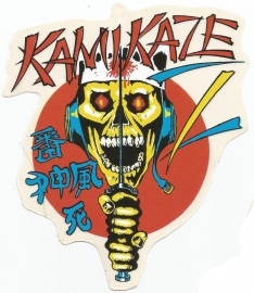 KAMIKAZE - Skull Ninja - DECAL - STICKER