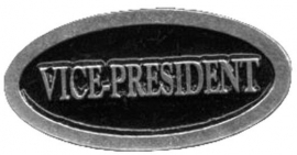 P192 - PIN - Metal Badge - Vice-President