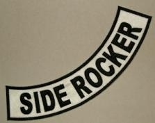 Side ROCKERS:  8-pack (your text and colors)