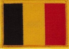 056 - PATCH - Small -Belgian Flag - Belgium - Belgique - België