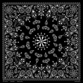 Original Bandana - Black Paisley