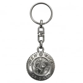 Metal Keychain - New Rock (limited quantity)