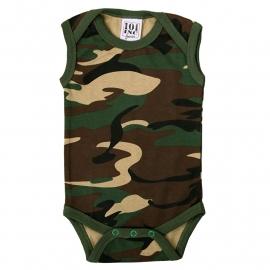 BABY - Sleeveless Romper - Combat Camouflage