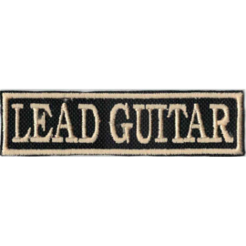 GOLDEN PATCH - STICK - LEAD GUITAR - band