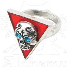 Alchemy England - UL17 - RING - Banderas de Los Muertos - Big Triangle