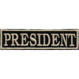 Golden PATCH - Flash / Stick - PRESIDENT