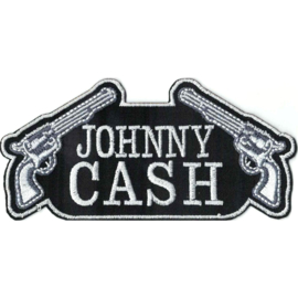 PATCH - JOHNNY CASH with pistols