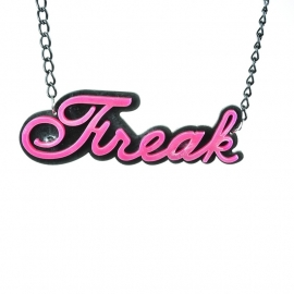 pink Freak necklace