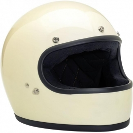 Biltwell INC - Gringo Full Face Helmet - DOT [Gloss Vintage White]